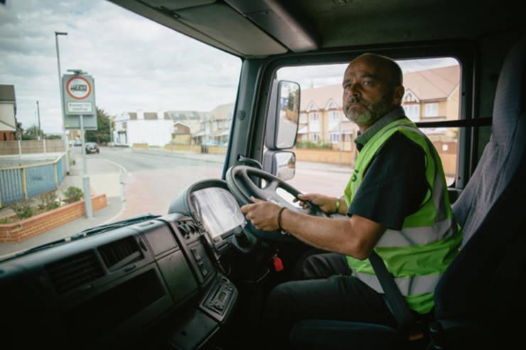 Șofer de TIR în UK