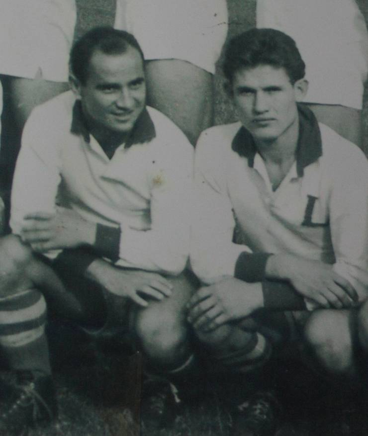 Costel Stănescu (stânga) și Mihai Vusec