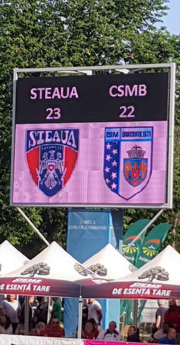 Steaua a câștigat finala mică