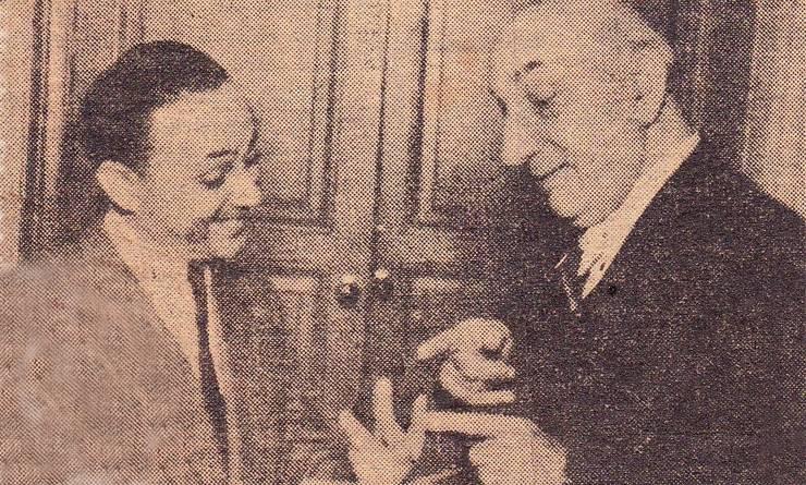 N. Stroe cu Constantin Tănase