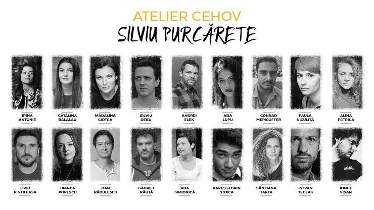 Toți actorii Atelier Cehov - regia Silviu Purcărete