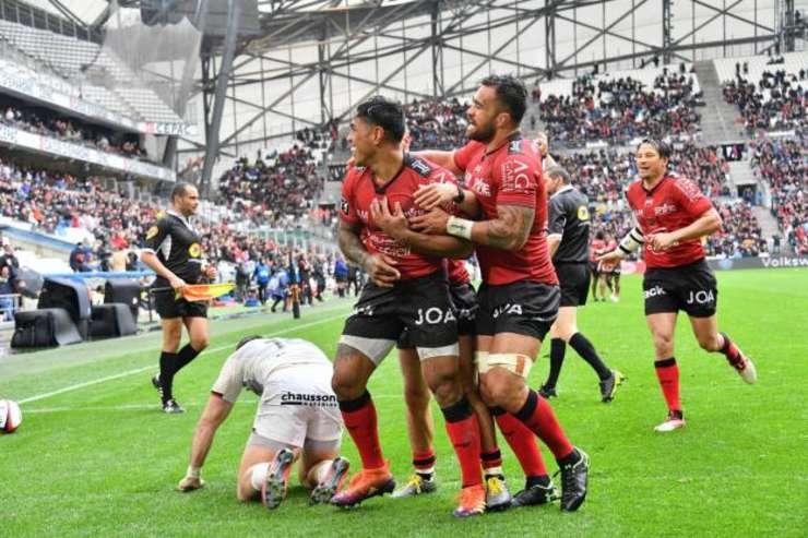 Toulon 25 Toulouse 10