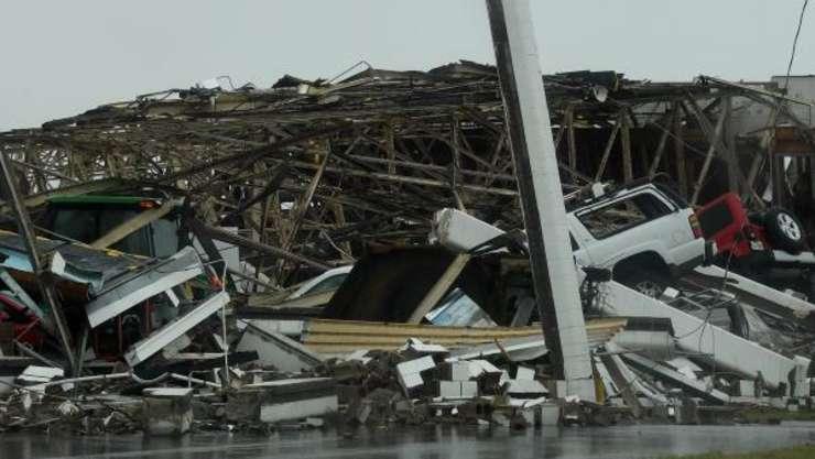Pagube materiale masive, după trecerea uraganului Harvey (Foto: AFP/Mark Ralston)