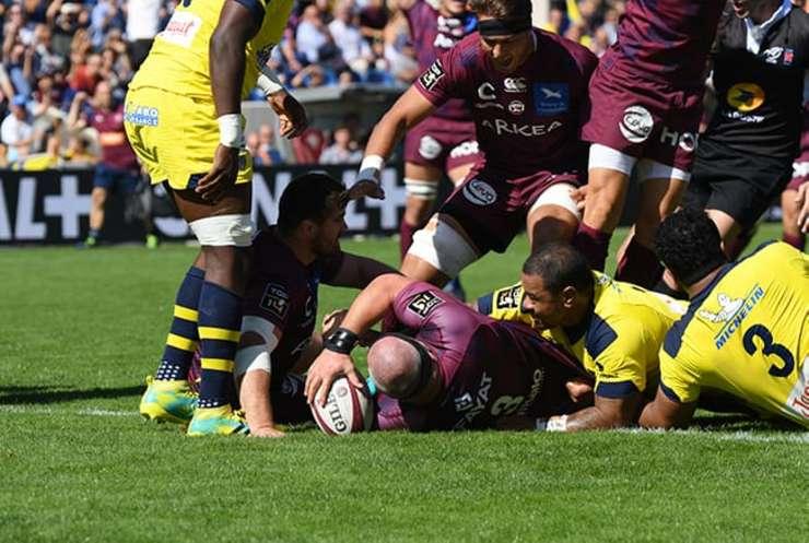 Bordeaux Begles 23 Clermont Auvergne 19
