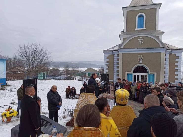 Ceremonie în onoarea preotului Gheorghe și Liuba Benea la Văratic, 8 decembrie 2019