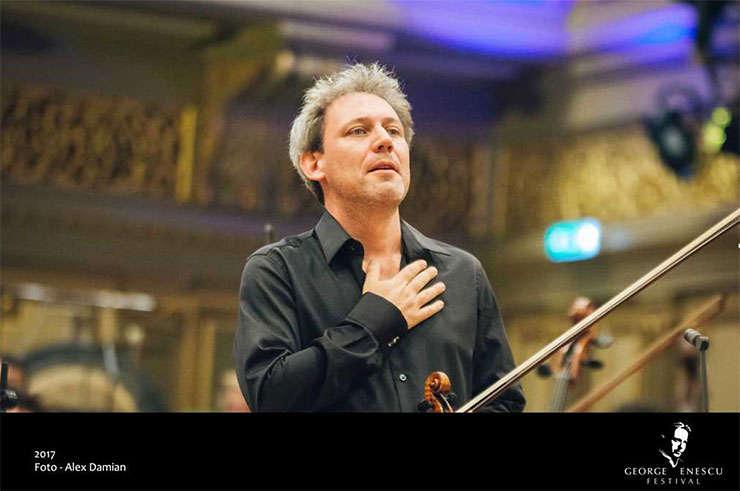 Violonistul David Grimal la Festivalul George Enescu