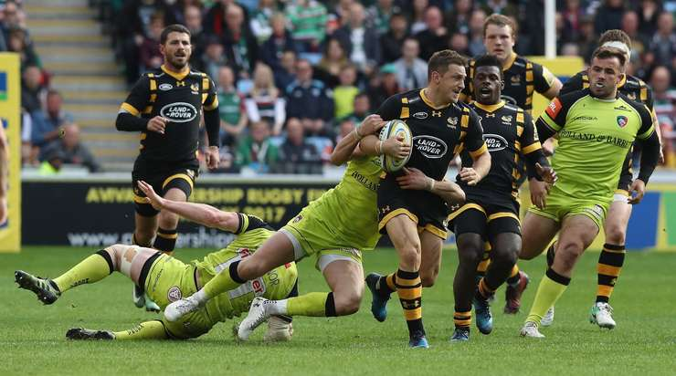 Wasps 21 Leicester Tigers 20