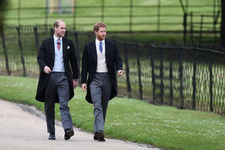 Prințul William și Prințul Harry