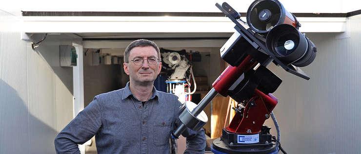 Profesorul Hakan Kayal (Foto: Tobias Greiner/Universität Würzburg)