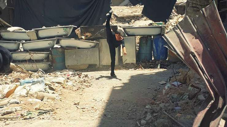 Yarmouk Camp Ahmad Joudeh