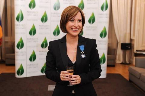 Medeea Marinescu decorată de președintele Franței
