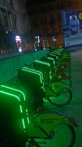 Bucureştiul are un sistem de bike-sharing. Cum funcţionează I'Velo?