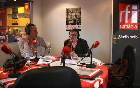 Vasile Damian si Matei Visniec la Salonul de Carte Paris 2013