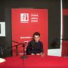 Dan Parvu, Ștefan Iancu și  Daniel Sandu in studioul RFI