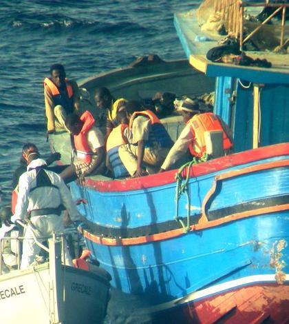 Operatiune de salvare a marinei italiene