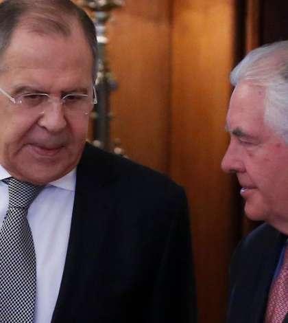 Serghei Lavrov si Rex Tillerson