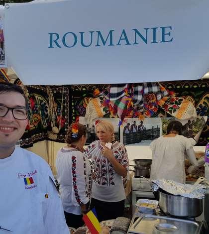 """Chef George Mihali, care a reprezentat România la """"Satul gastronomiei"""" din Paris, 22-24 septembrie 2017"""