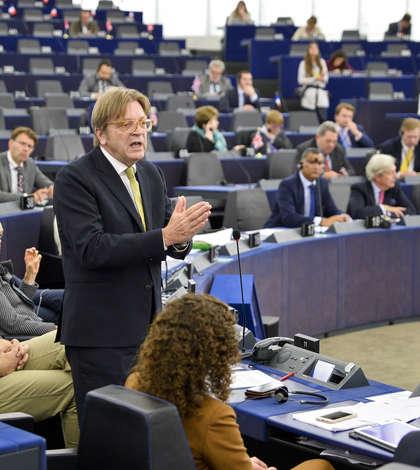 Verhofstadt in plenara