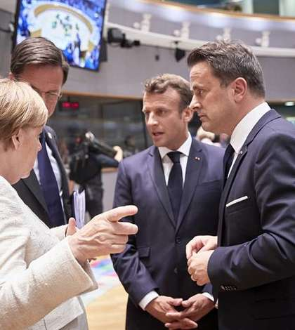 Merkel Macron iunie 2019
