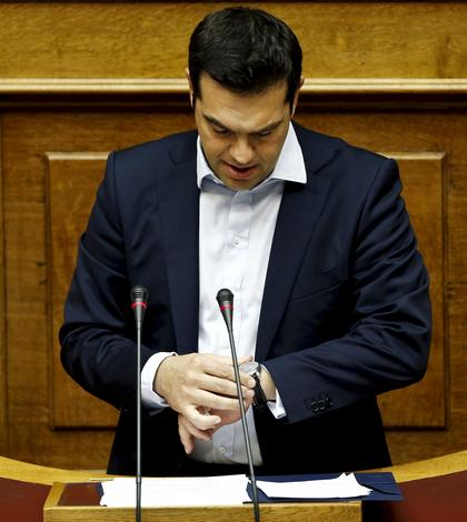Premierul grec, Alexis Tsipras (Foto: Reuters/Alkis Konstantinidis)