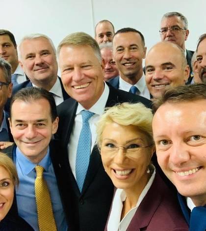 Alina Gorghiu (stânga jos) nu consideră oportună o dezbatere Iohannis-Dăncilă (Sursa foto: Facebook/Alina Gorghiu)