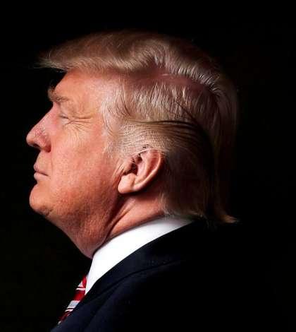 Donald Trump în biroul său din Trump Tower, New York, 17 mai 2016