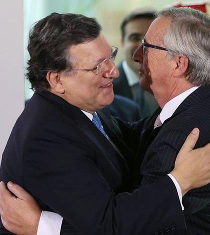 José Manuel Barroso si Jean-Claude Juncker