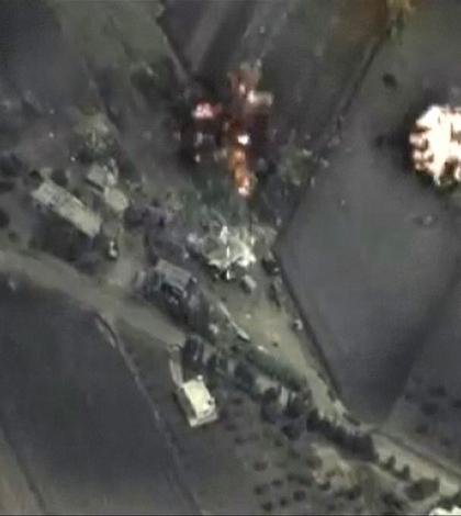Kremlinul a publicat poze cu obiectivele lovite în Siria