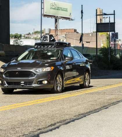 Maşină autonomă Uber, imagine de arhivă (Foto: AFP/Angelo Merendino)