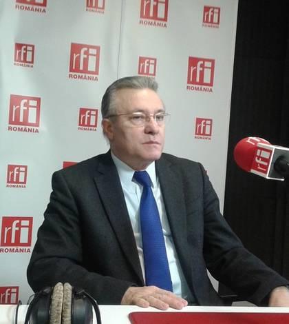 Cristian Diaconescu a comentat la RFI scandalul legat de posibila mutare a ambasadei României de la Tel Aviv la Ierusalim (Foto: RFI/arhivă)
