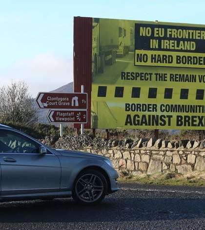 Frontiera irlandeză