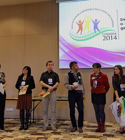 Gala Naţională a Societăţii Civile Tinere din România