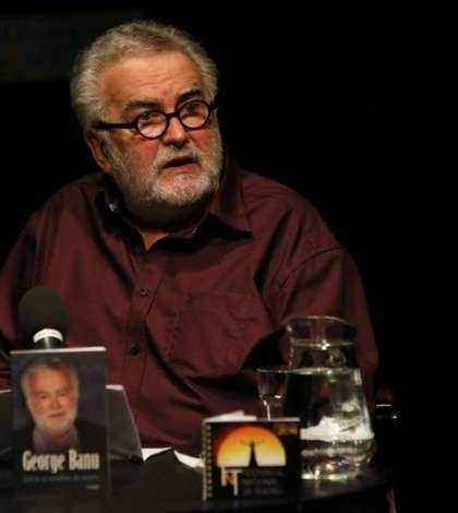 George Banu, conferinţă în 2014 la Teatrul Naţional din Bucureşti
