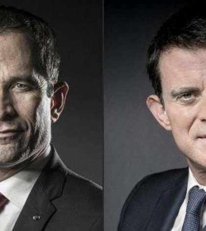 Benoît Hamon - Manuel Valls