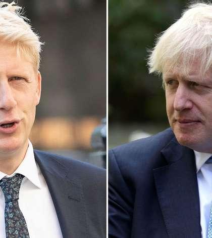 Jo Johnson și Boris Johnson