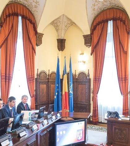 Şedinţă CSAT (Foto: www.presidency.ro)
