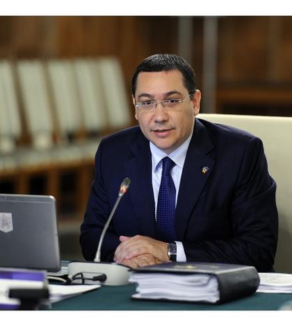 Premierul Victor Ponta (Foto: www.gov.ro)