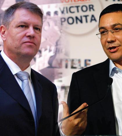 Preşedintele Klaus Iohannis şi premierul Victor Ponta