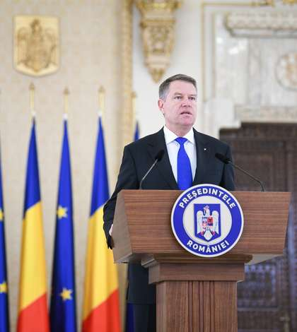 Preşedintele Klaus Iohannis critică OUG anunțată de ministrul Tudorel Toader (Sursa foto: presidency.ro)