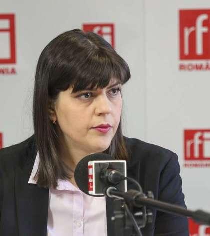Laura Codruța Kovesi, în cărți pentru șefia Parchetului European