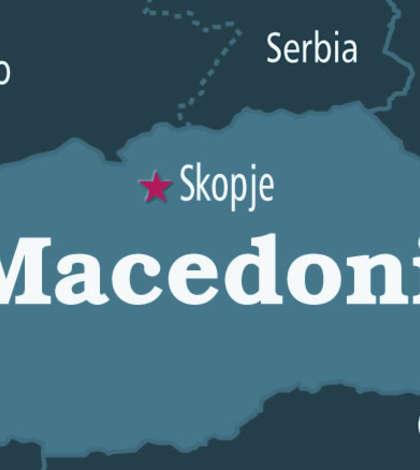 Harta Macedonia