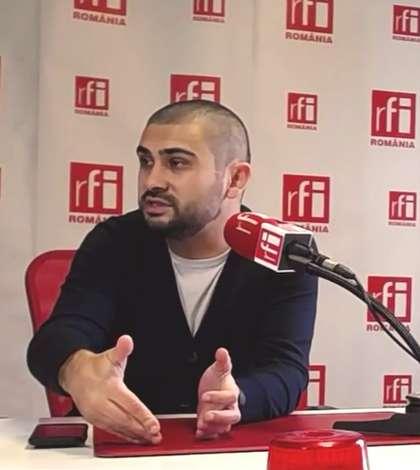 Petre Florin Manole, unul dintre iniţiatorii legii parteneriatului civil (Foto: arhivă RFI)