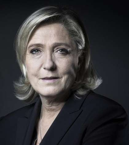 Marine Le Pen, candidata Frontului National