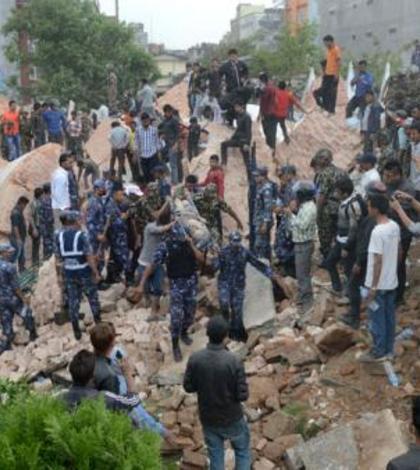 Echpe de salvare în Nepal