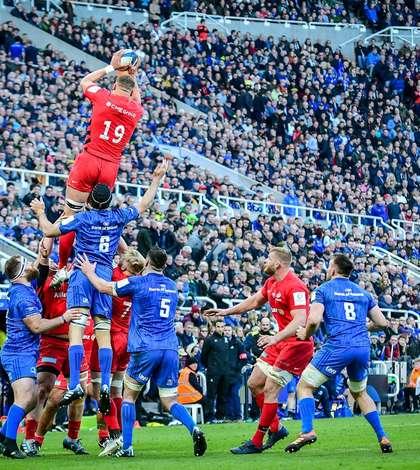 Finala Cupei Campionilor Europeni s-a jucat între Leinster și Saracens