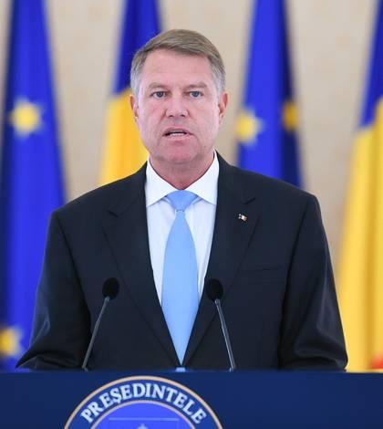 Preşedintele Klaus Iohannis ia poziţie privind protestele de stradă (Sursa foto: presidency.ro)