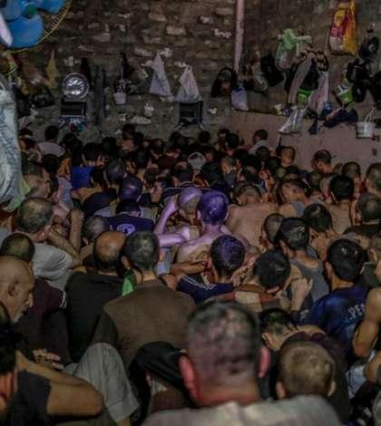 Jihadiști ai Statului Islamic prizonieri în Irak