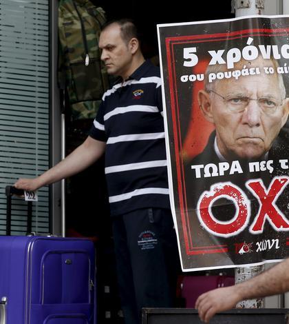 Băncile grecești ar putea rămâne fără bani în scurt timp