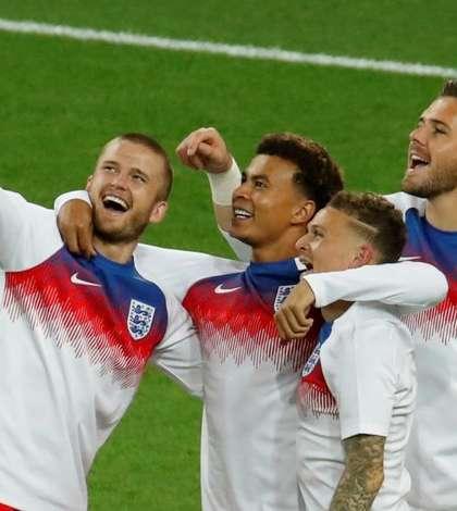 Anglia s-a calificat în sferturile Campionatului Mondial de fotbal 2018 (Foto: Reuters/Christian Hartmann)