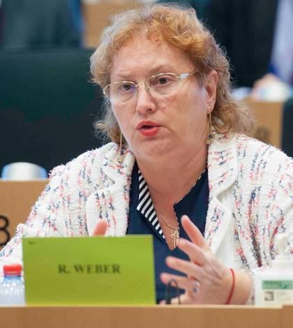 Renate Weber nu susține referendumul pe justiție (Sursa foto: Facebook/Renate Weber)